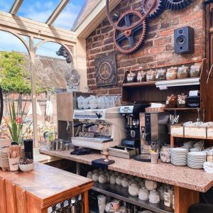 The Coffee area